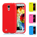 200pcs Candy Soft TPU Case Cute Jelly Phone Cases Silicone Rubber Gel Back Cover for Samsung Galaxy S4 i9500 S4 Mini S5