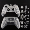 New Transparent Clear Shell Game Controller Case Cover For XBOX ONE Controller Joystick Replacement Video Game Shell Accessories