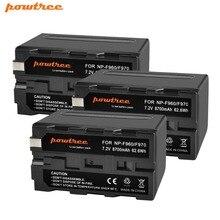 3X 8700mAh NP-F960 NP-F970 Camera Battery for Sony NP F960 F970 MC1500C 190P 198P F950 MC1000C TR516 TR555 DCR-VX2100E/A L10