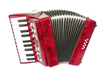 22 Keys 8 Bass accordion 22K8B kids accordion 22 Keys 8 Bass accordion for Children(Red/Blue/Green color options)