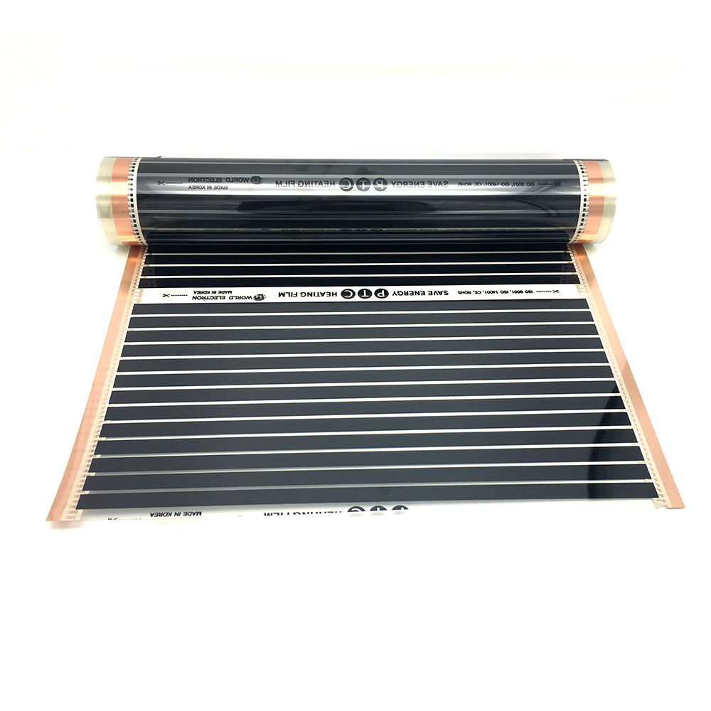 Image 2 - 16M2 遠赤外線カーボン加熱フィルムセット PTC 材料床暖房マットアプリによって制御することができる無線 lan 温度調節床暖房システム & パーツ   -