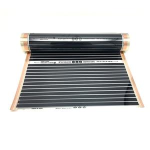 Image 2 - 22M2 PTC Infrarot Carbon Heizung Folie Matte für Fußbodenheizung Fliesen Holz Linoleum Laminat Heizung mit Installation Clips Duab