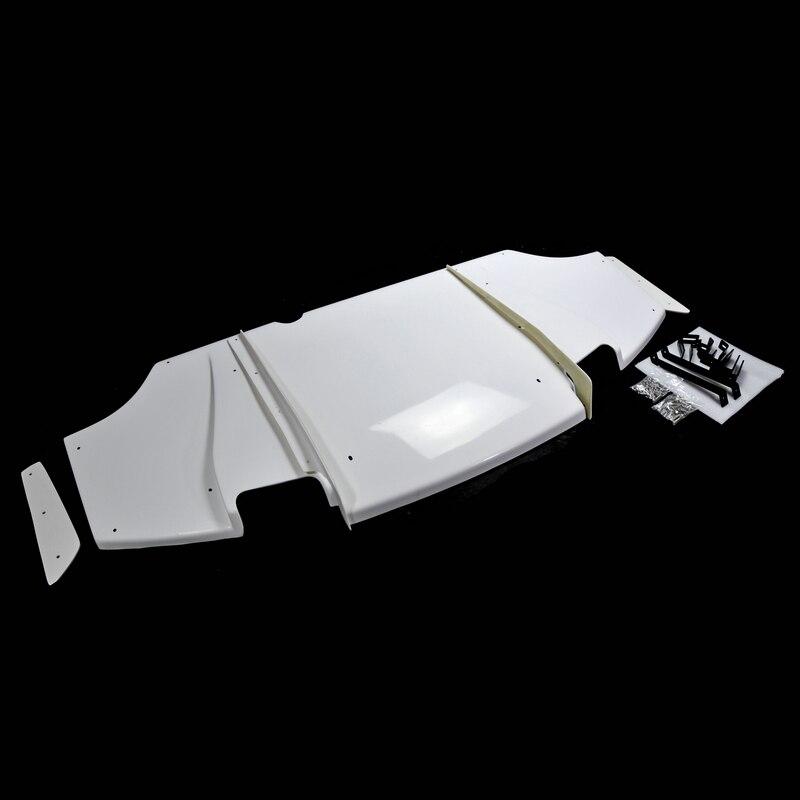 Car Accessories For Mitsubishi Evolution EVO 10 VRS Wide Ver FRP Fiber Glass Rear Diffuser Fiberglass