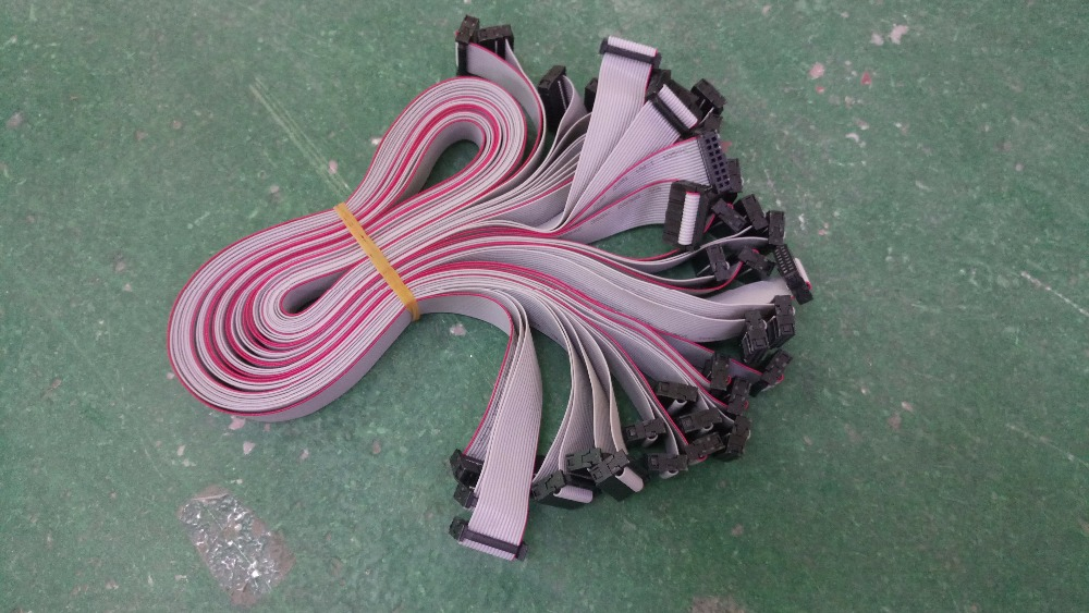 16 Pin 35cm Data Cable / Flat Ribbon Cable For Led Modules