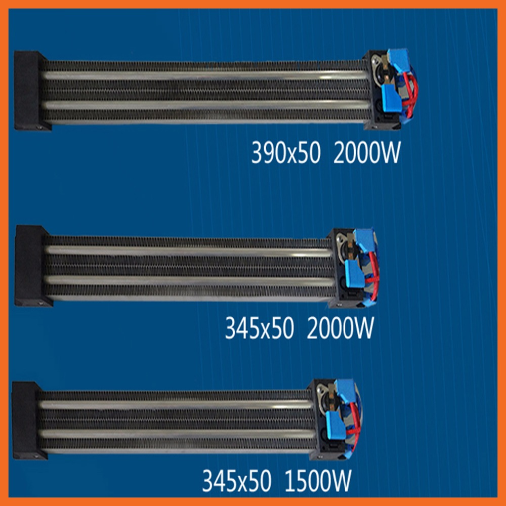 280x95mm 2500W 220V Electric Heaters Insulated PTC Ceramic Air Heater Heating Element AC DC 220V Apparatus Temperature High 100w 220v ac dc insulated ceramic thermostatic ptc heating element electric air heater 11 5 x 3 5cm tool parts