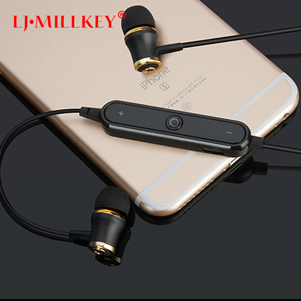 S6 Wireless Bluetooth V4.1 Earphones Fone De Ouvido Stereo Sports Bluetooth Headset Earbuds Sweatproof LJ-MILLKEY LZ001 headset bluetooth fones de ouvido bluetooth wireless earbuds in ear fone de ouvido bluetooth mini bluetooth headset qcy50