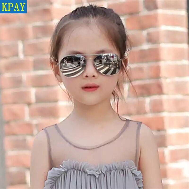 2019 New Fashion Boys Frog Sunglasses Kids Piolt Style Children Sun Glasses Brand Design 100% UV Protection Glasses Oculos Gafas