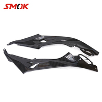 SMOK Motorcycle Accessories Left Right Carbon Fiber Tank Side Panel Fairing Kits Cover For BMW S1000RR S 1000 RR 2015 2018