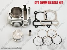 2013 New Big Bore 100cc 50mm for GY6 50 80CC Engine,Necessary modification, Free Shipping!