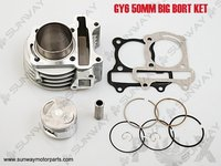 2013 New Big Bore 100cc 50mm For GY6 50 80CC Engine Necessary Modification Free Shipping