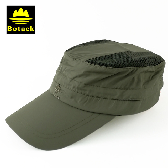 Botack outdoor protezione del cappello del sole pieghevole visiera tappi di caccia  pesca trekking cappelli estivi 7930ca86cbda