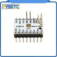 4pcs TMC2209 v2.1 Stepping Motor Driver 3d Printer Parts Stepsticks Mute Driver 256 Microsteps Current 2.8A Peak VS TMC2208