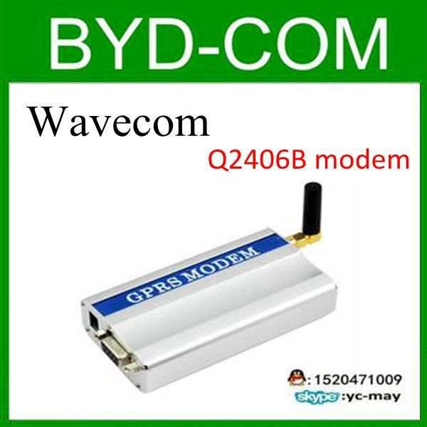 US $54 0 |freeship universal wavecom Q2406B GPRS modem for RS232 sms  terminal bulk message wavecom Q2406B-in Satellite TV Receiver from Consumer