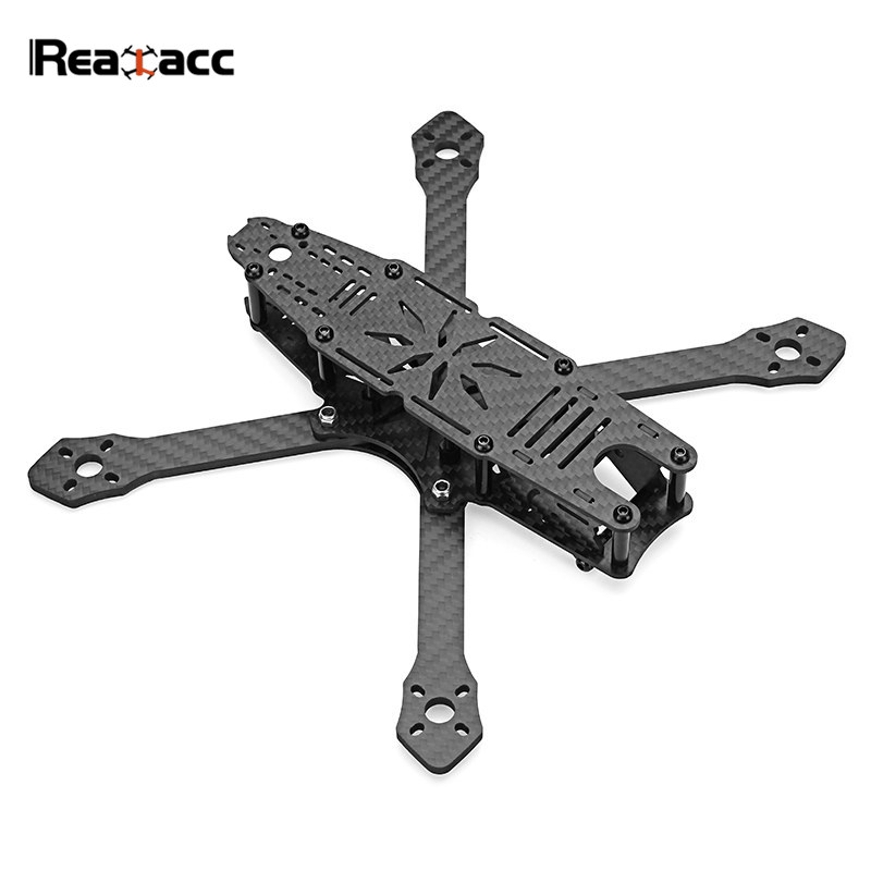 Realacc Ultra-215 215mm Wheelbase 4mm Arm Carbon Fiber Frame Kit W/ 5V&12V PDB Board For DIY Camera Drone Multicopter Parts cute love heart hollow out bracelet watch for women