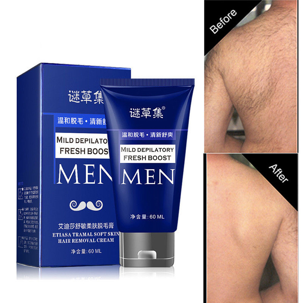 Bikini Permanent Body Hair Removal Cream For Men And Women Hand