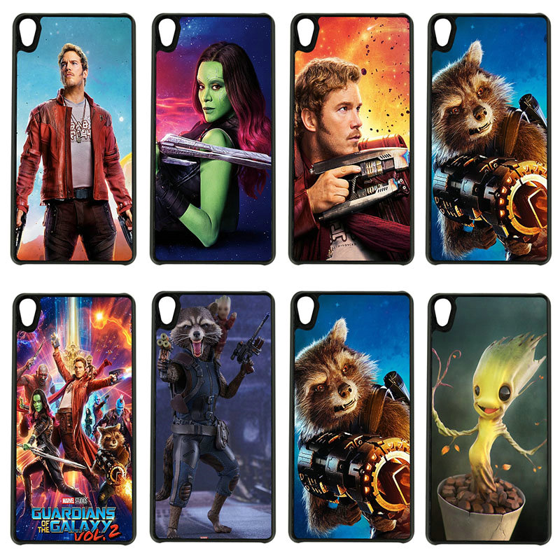 Cell Phone Cases Guardians of the Galaxys Hard PC Cover for Sony Xperia z1 z2 z3 z4 z5 m4 m5 X XA XA1 XZ E4 E5 Compact Shell