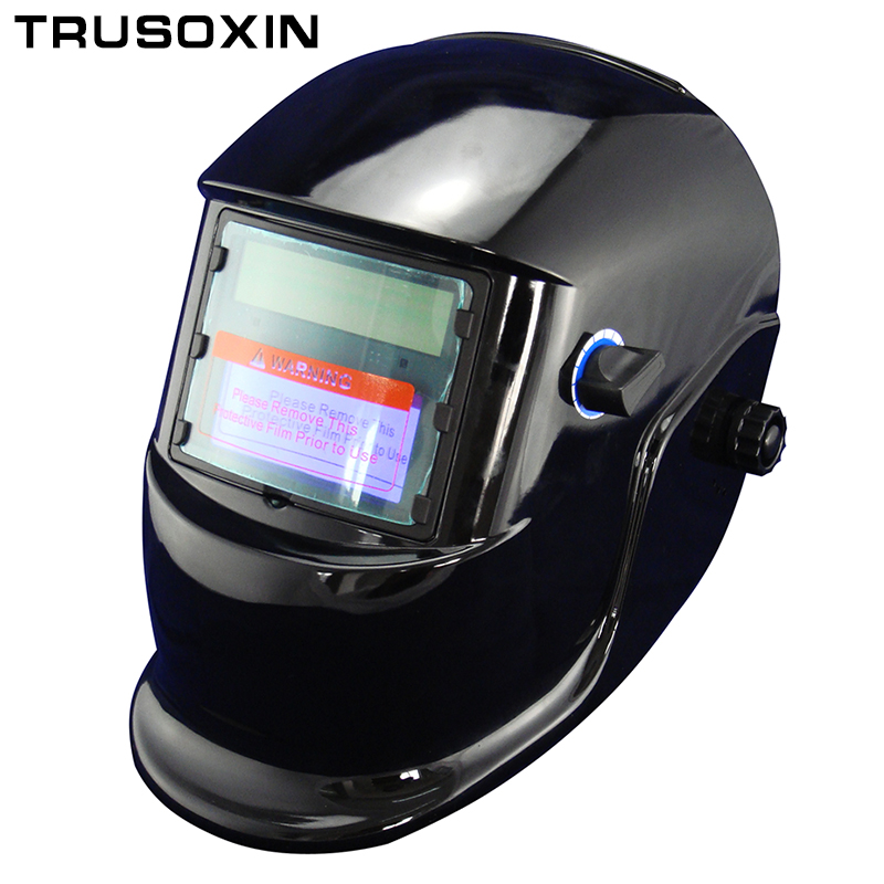 все цены на Best selling Li batery+Solar auto darkening welding mask/welding  helmet for MIG TIG ZX7 CT MAG wlng machine and plasma cutter онлайн