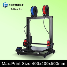 China Provider large quantity 400x400x500mm Construct Dimension 3D Printer Machine with 1.75mm filament