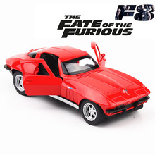 1:32 игрушечный автомобиль Corvette гоночная металлическая игрушечная литая машинка Литые и игрушечные транспортные средства модель автомобиля Миниатюрная модель автомобиля игрушки для детей