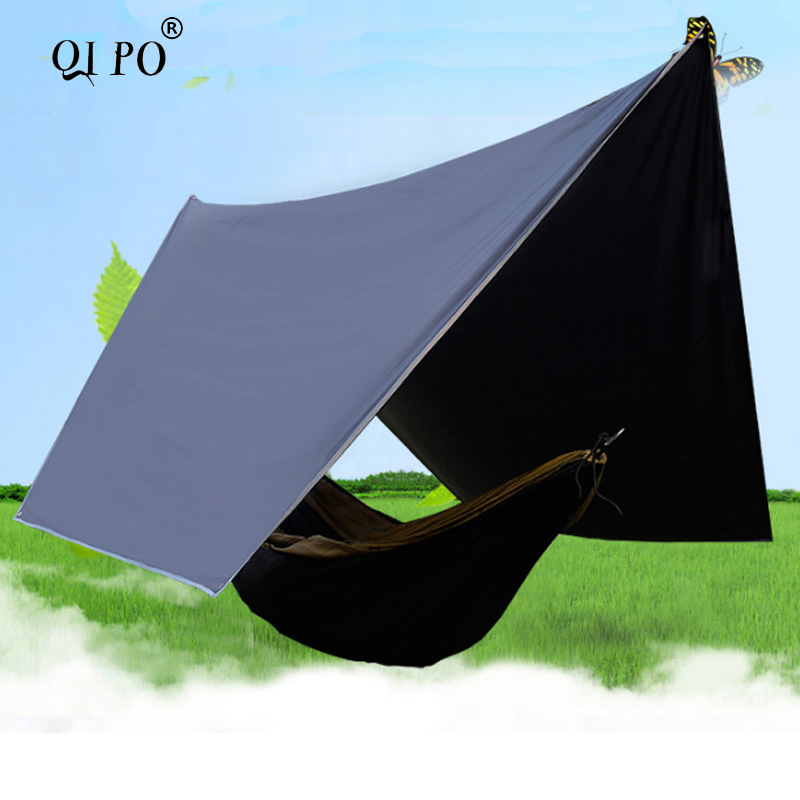 QIPO Ultralight Plaid Hammock Canopy Outdoor Camping Plaid Waterproof UV  Shade 3*4 Meter In Tents From Sports U0026 Entertainment On Aliexpress.com |  Alibaba ...