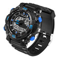 Новое Поступление Smart Watch Водонепроницаемый мужская Мальчик Цифровые Спорт Военная Сигнализации Дата Аналоговые Наручные Часы