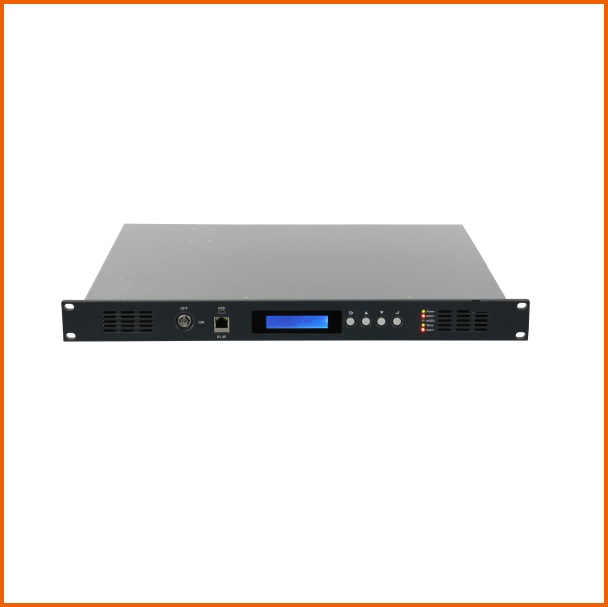 8 Ports EYDFA, 1U High Power EDFA, 17dBm Power Output Per Port, With WDM, With Shipping To Slovakia