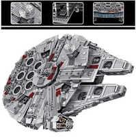 35002 5382pcs star wars millennium force wekt lele 5 cijfers bouwsteen 10179 Bricks Speelgoed