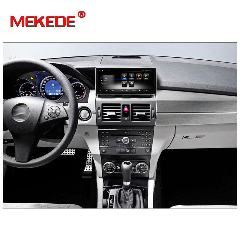 Livraison gratuite! lecteur multimédia de voiture android7.1 pour Mercedes Benz GLK X204 2008-2015 prise en charge 4G wifi bluetooth radio navi RDS