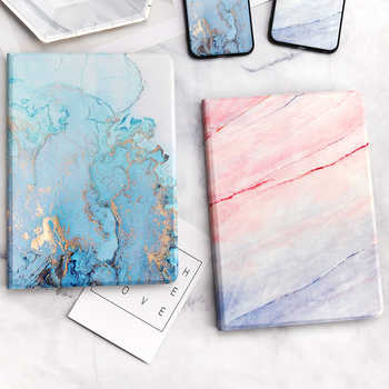 For iPad 9.7 2017 2018 Case A1893 Silicone Soft Back Marble PU Leather Smart Cover for iPad Air 2 1 Pro 10.5 Mini 1 2 3 4 Funda - DISCOUNT ITEM  27% OFF All Category