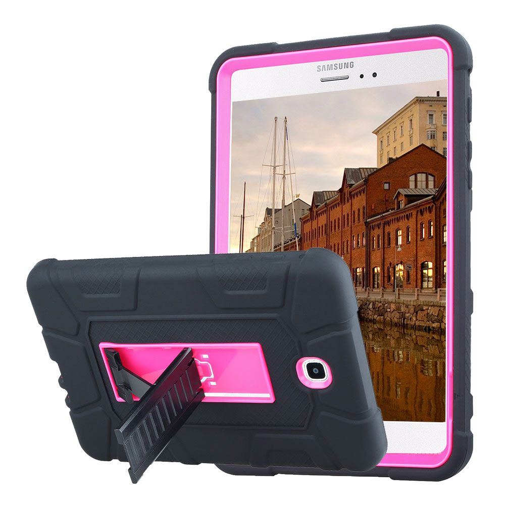 For Samsung Galaxy Tab A 8.0 SM-T350 T355 Rugged Armor Tablet Case Cover Hybrid Shockpro ...