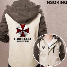 2017 New Spring Autumn Resident Evil 6 Hoodie Anime Cool Coat Men zipper Jacket