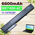 4400 mah bateria do portátil para hp business notebook 8510 p 8510 w 8710 p 6720 t 7400 8200 8400 8500 8510 w 8700