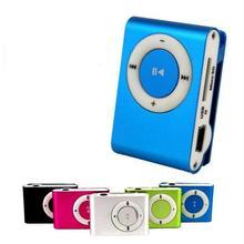 10 шт коробка красочный mp3-плеер мини Mp3 Mususic плеер Micro TF слот для карт USB Mp3 S порт плеер USB порт с наушниками наушники