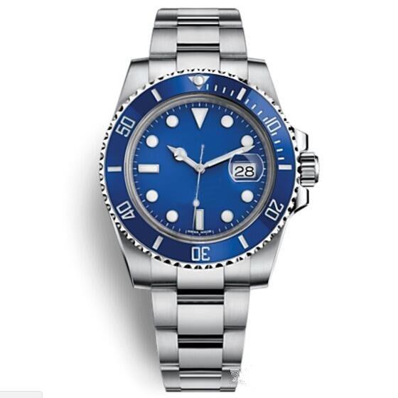 Orologio Di Lusso Glide Lock Sluiting Strap Heren Nieuwe Automatische Horloge Groene Horloges 116610lv Orologio Automatico Polshorloge Orologi Zorgvuldig Geselecteerde Materialen