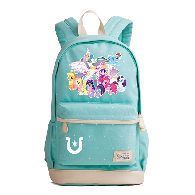361dc6d5dcc4 Candy Color Women Laptop Bags Rainbow Unicorn School Backpack Kawaii School  Bags for Teenage Girls Canvas Fashion Travel Bags