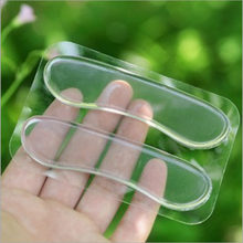 Silicone Gel heel protector soft Cushion protector Foot feet Care Shoe Insert Pad Insole shoes accessories insoles for shoes0.82(China)