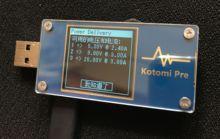 Le Kotomi Premium USB Tension Mètre USB Table QC/PD Déclenche PD Test Compteur