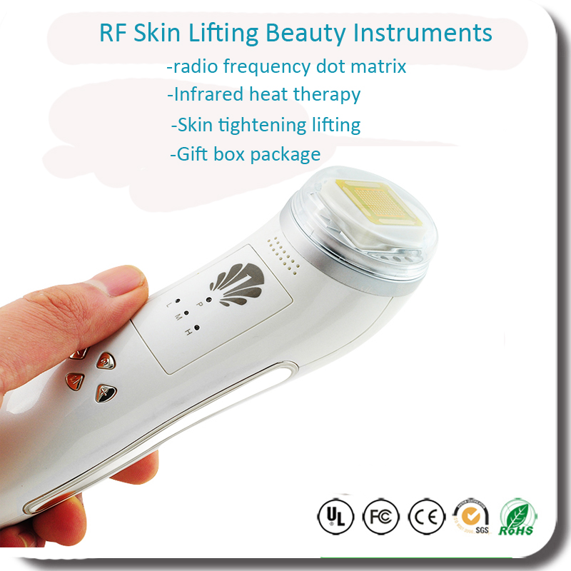 Free Shipping Fractional RF Skin Care Face Lifting Tightening Wrinkle Removal Infrared Facial Massager Beauty System kitbwkk5000rcp750411 value kit rubbermaid autofoam touch free skin care system rcp750411 and boardwalk premium half fold toilet seat covers bwkk5000