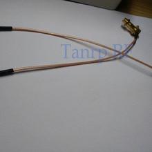 RP-SMA мама к MMCX папа оба под прямым углом с кабелем RG178 использование для DJI Phantom 3 или DJI Phantom 4 усилители пульт дистанционного управления