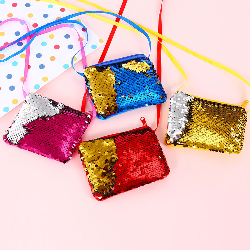 Gepäck & Taschen Zielstrebig Kinder Kinder Schulter Crossbody-tasche Messenger Pailletten Kleine Mode Für Geld Fa $3 Kinder- & Babytaschen