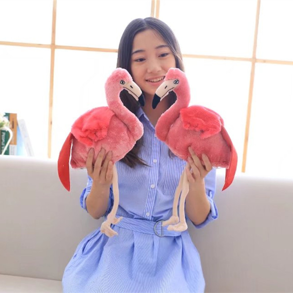 30cm Flamingo Cute Cartoon Stuffed Animals Girl Kids Toys Birthday Gift Plush Toys for Children Girls Doll cute bulbasaur plush toys baby kawaii genius soft stuffed animals doll for kids hot anime character toys children birthday gift