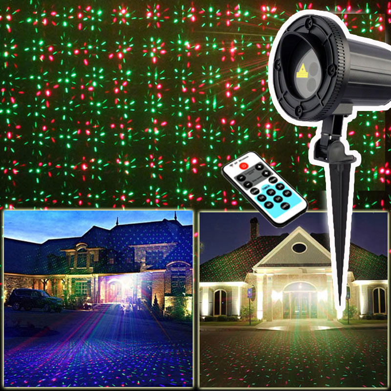 Christmas Decorations Sale 2017 RGB Christmas Lights Outdoor Shower Laser Projector Waterproof IP65 Christmas Decorations