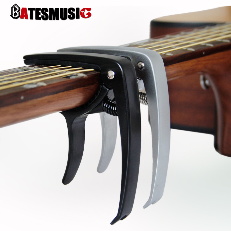 acoustic folk guitar capo capotasto electric bass guitar tuning capo with aluminium alloy body. Black Bedroom Furniture Sets. Home Design Ideas