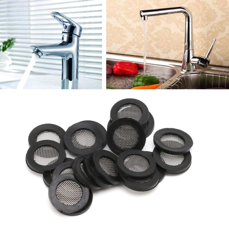 20pcs Seal O-Ring Hose Gasket Flat Rubber Washer Filter Net for Faucet Grommet o ring grommet hem skinny pants