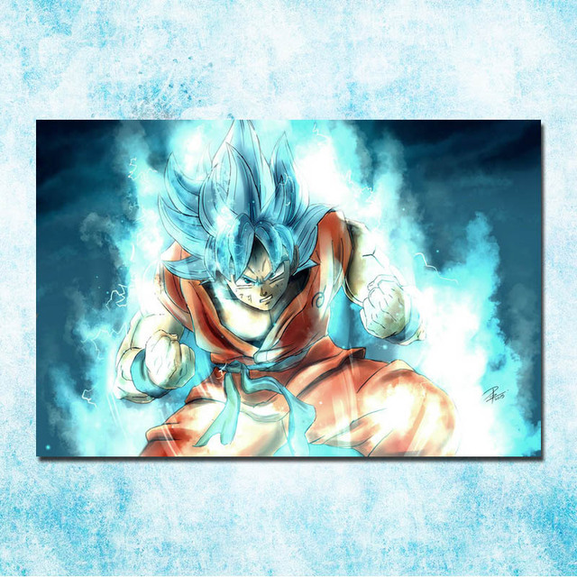 Dragon Ball Japanese Goku Buruma Poster Print 13×20 24×36 Inches Wall Pictures Home 02-04