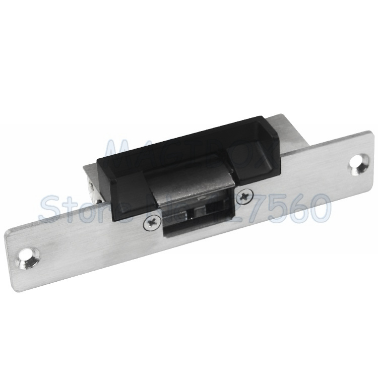 12v Fail Secure Electric Door Strike Lock For Door Access Control System Intercom oc3001kn cathode lock fail secure ancillary electric strike for accecontrol