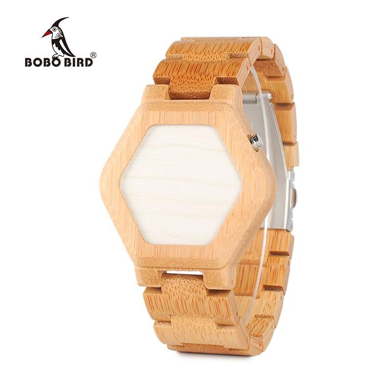 Digital-Watch Watch-Design Time-Display Bobo Bird Tokyoflash Unique Mini Brand Bamboo