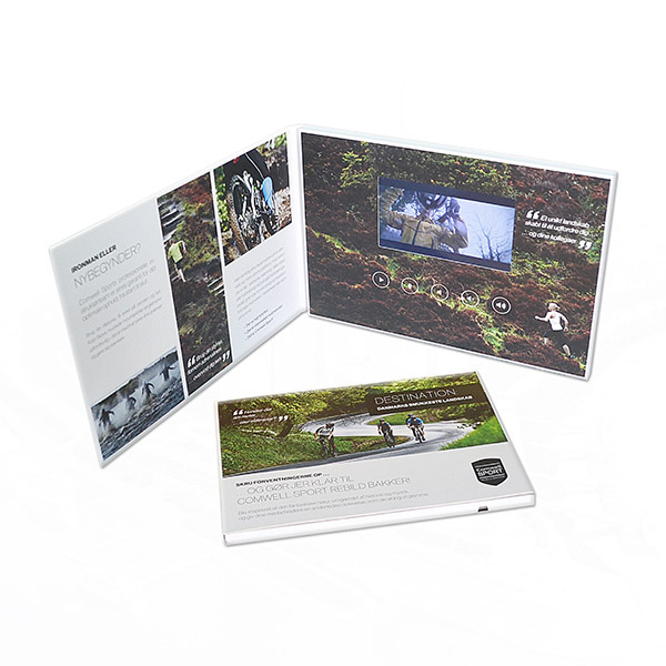 Online Shop Hot 4.3 inch 4 color printing real estate video ...