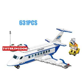 city Universal Exploration Aerospace airPlane building block Astronaut Maintenance worker figures model bricks toys collection