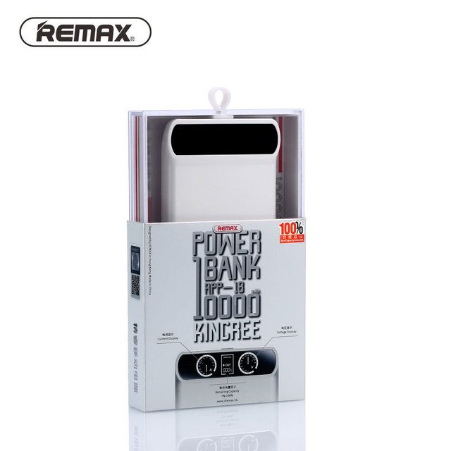Remax 10000mAh Power Bank 2USB LED External Portable Battery Charger For iPhone 6 6s 7 Plus 5s 5c For S5 S6 Note 5 7 For Xiaomi